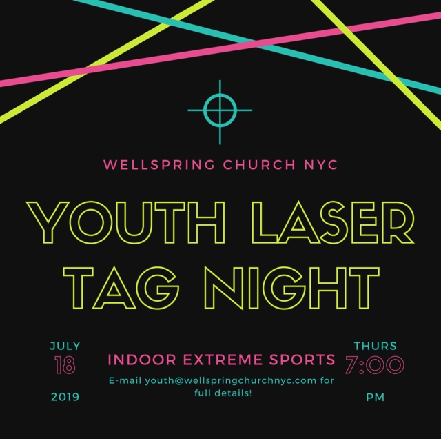 Lazer Tag-Party Events - Wellspring Church NYC