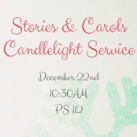 STORIES & CAROLS CANDLELIGHT SERVICE