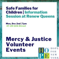 Mercy and Justice Volunteer Event- Safe Families for Children